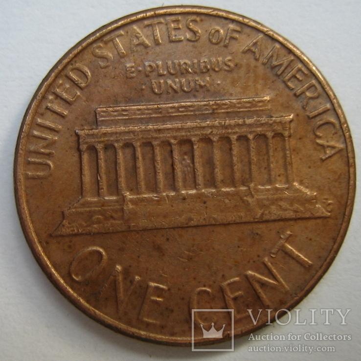 США 1 цент 1977 года., фото №7