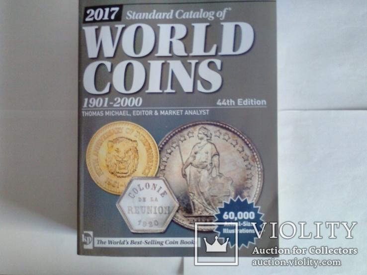 """Каталог""""WORLD COINS"""" 2017г.(1901-2000г.г.)Монеты Мира., фото №2"""