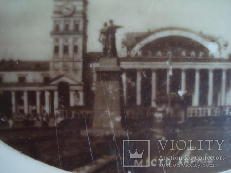Шкатулка,карболит,50-е.г. Привокзальная площадь Харьковского ю.ж.д., фото №5