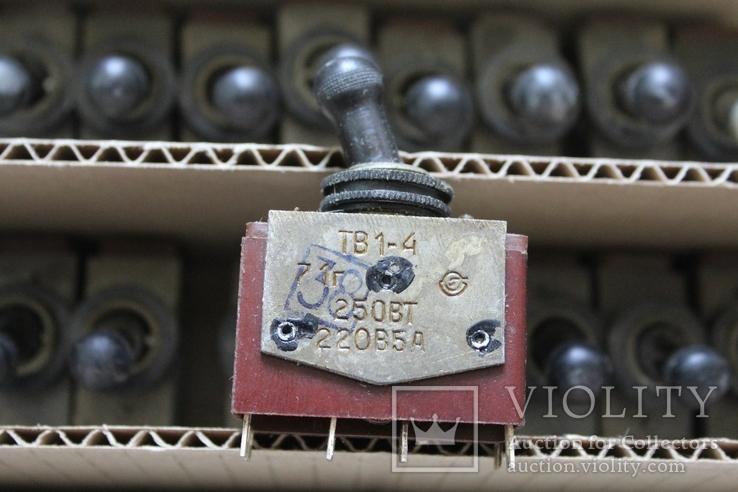 ТВ1-4 (переключатель перекидной - 5 шт.), Лот №200171, фото №4