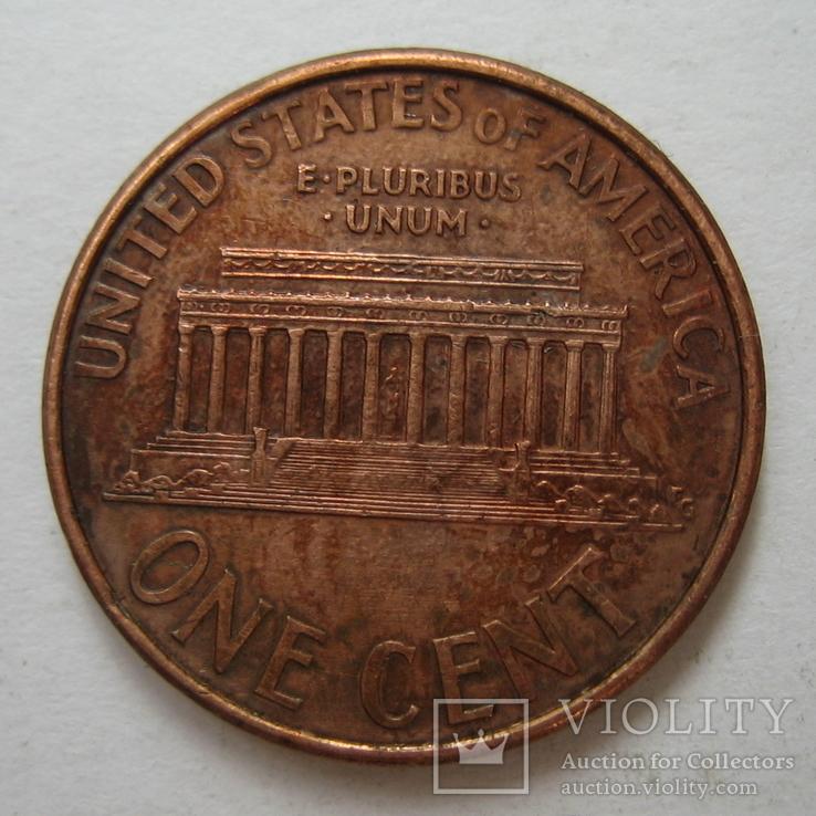 США 1 цент 1997 года.D, фото №6