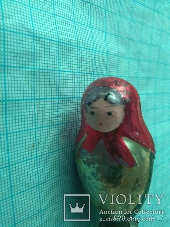 Ёлочная игрушка Матрёшка, фото №2