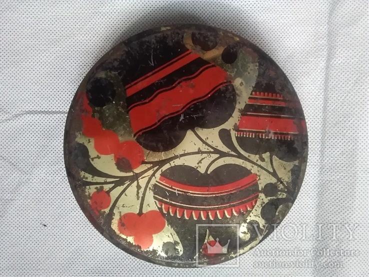 Банка от конфет СССР., фото №2