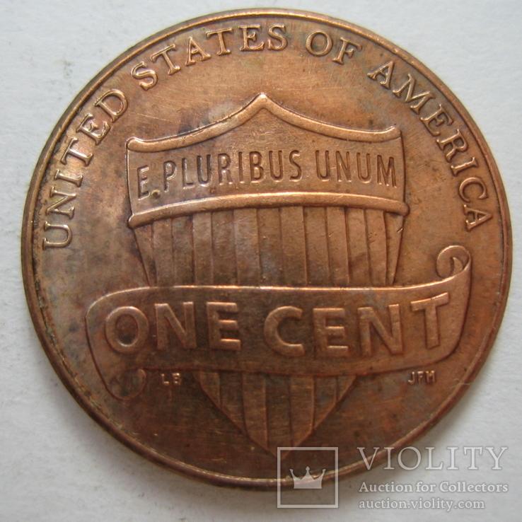 США 1 цент 2014 года., фото №4