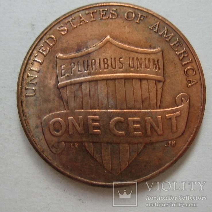 США 1 цент 2014 года., фото №5