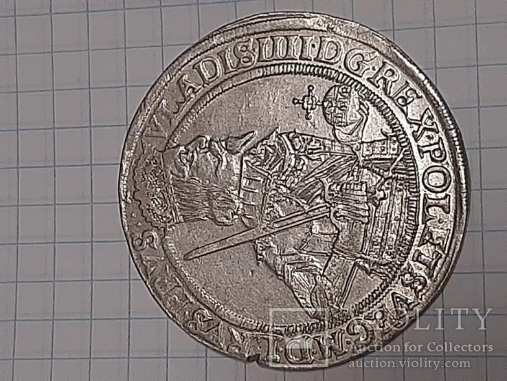 Талер, Владислав 4,Торунь 1637р, фото №4