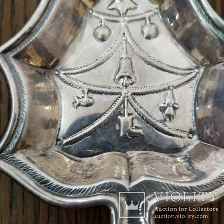 Мисочка у формі Ялинки Срібло 800 проба 40,13 грам, фото №4