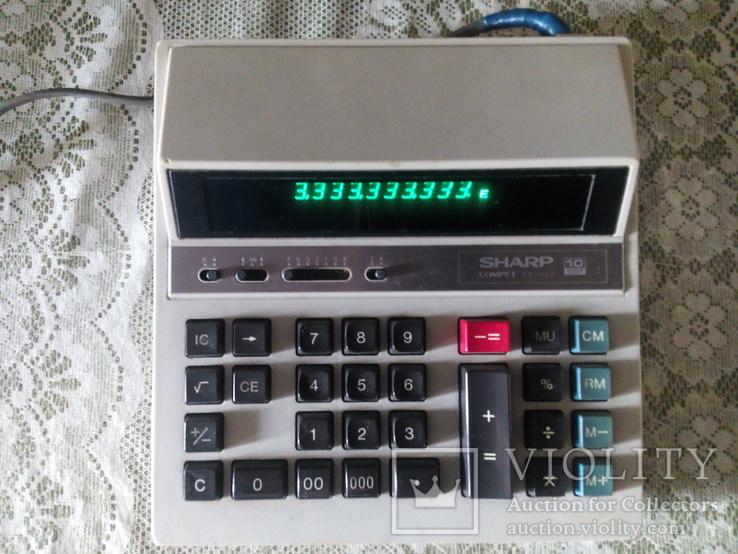 Калькулятор Шарп Япония  электрический, фото №2