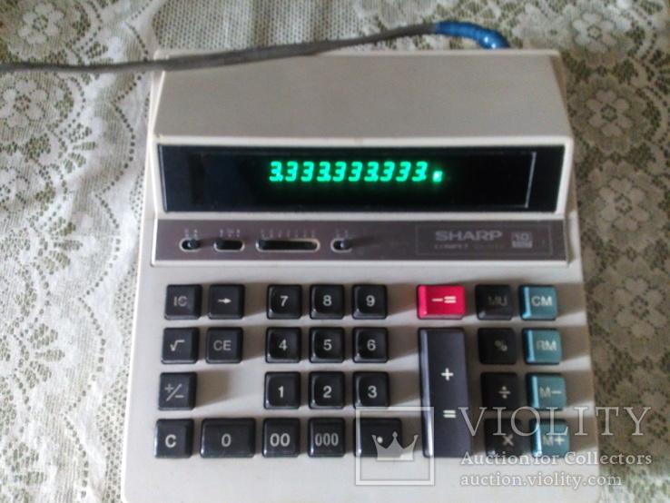 Калькулятор Шарп Япония  электрический, фото №3