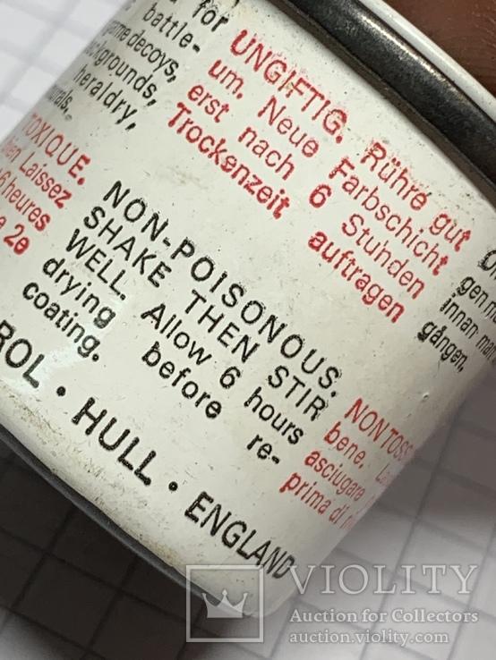 Тюбик краски с Англии, фото №5