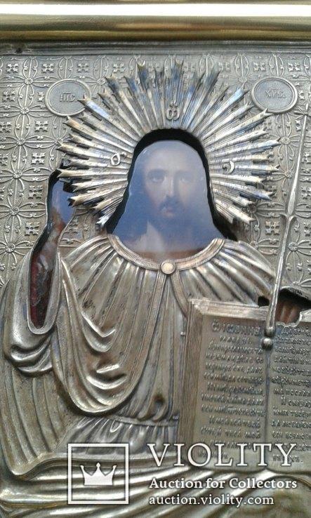 Икона Иисуса Христа в ознаменование отмены крепостного права,1861 г., фото №4