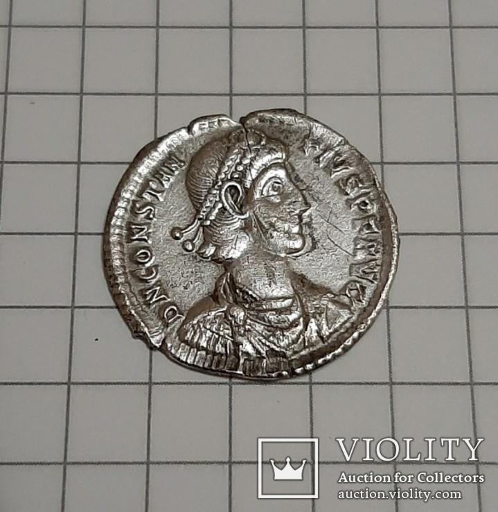 Силиква Констанций II, м.д. Сирмий, 355-361., фото №4