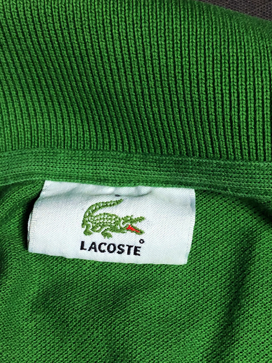 Поло (Футболка) - Lacoste - размер 5 (L), фото №6