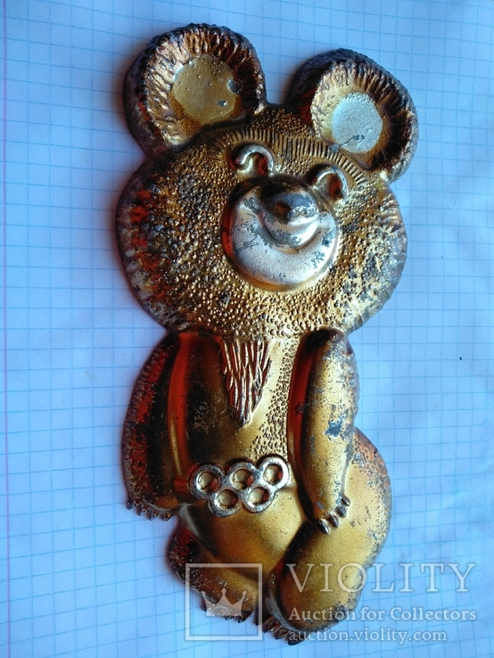 Плакетка олимпийский мишка, фото №2