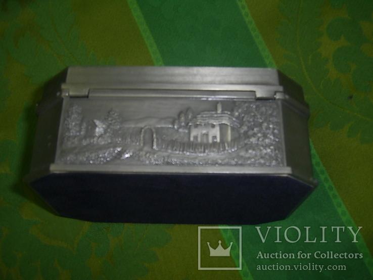 Шкатулка пейзажная из тяжёлого металла Европа, фото №7