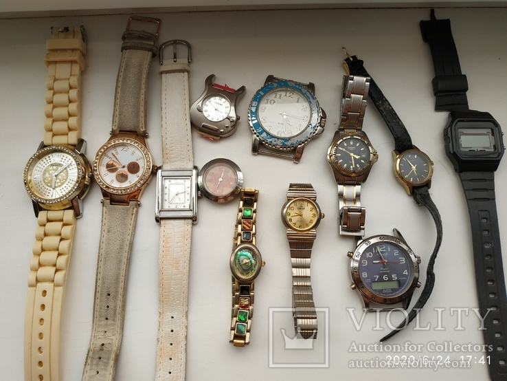 Кварцевые часы лот, фото №2