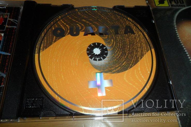Диск CD сд ансамбль новой музыки Quarta+, фото №8