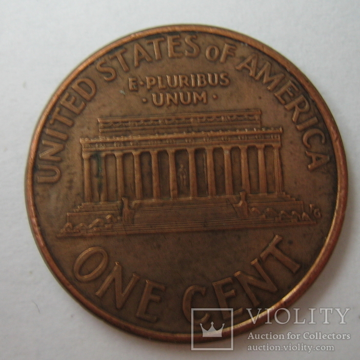 США 1 цент 1996 года.D., фото №5