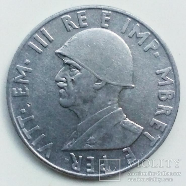 0,5 лек 1940 г. Албания, фото №3
