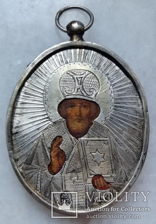 Ікона Микола Чудотворець, 1876р.