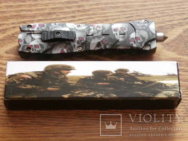 Нож выкидной Skillet 1900 Фронтальный 23см, фото №2