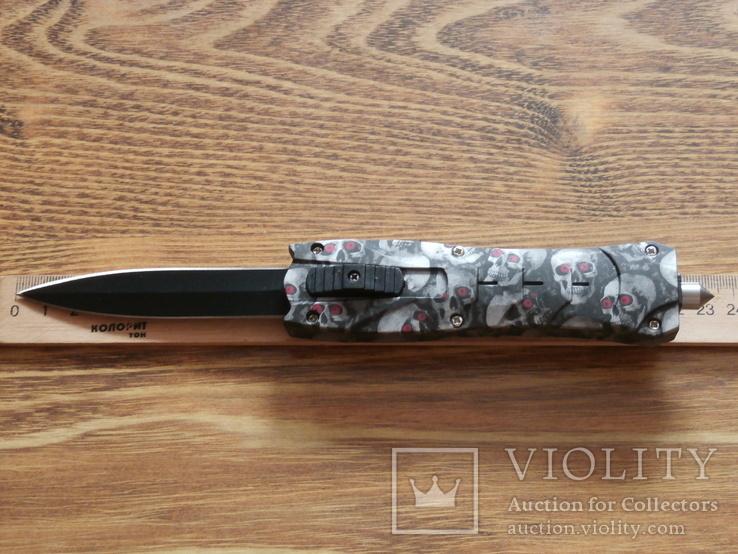Нож выкидной Skillet 1900 Фронтальный 23см, фото №3