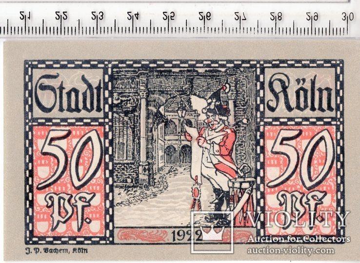 50 пфеннигов. Нотгельд. Германия. (3)., фото №2