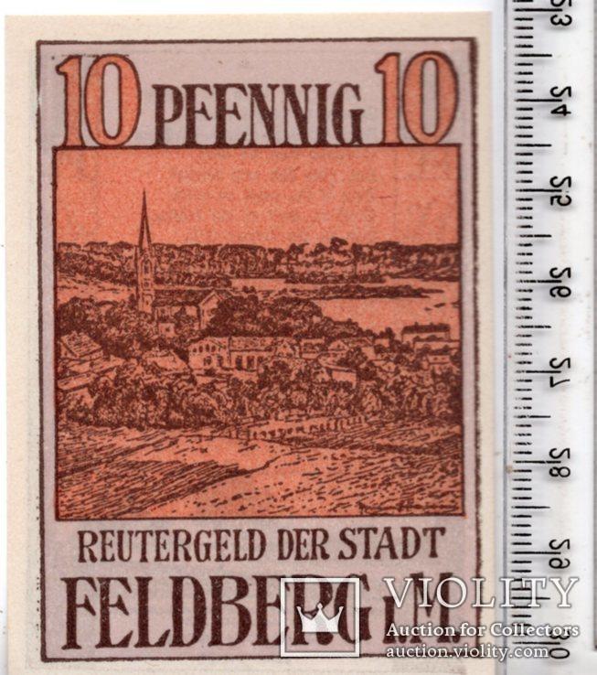 10 пфеннигов. Рейтергельд. Нотгельд. Германия. (3), фото №2