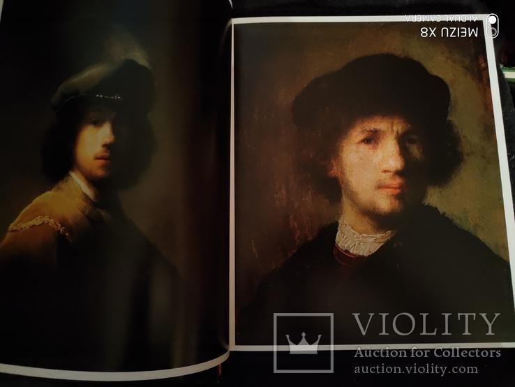 Большой богато иллюстрированный альбом Рембрандт, фото №7