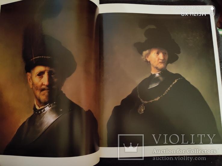 Большой богато иллюстрированный альбом Рембрандт, фото №8