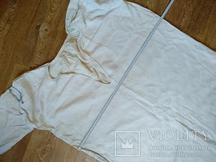 Женская сорочка вышиванка (буденка), фото №7