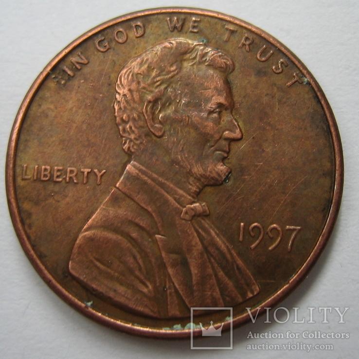 США 1 цент 1997 года., фото №5