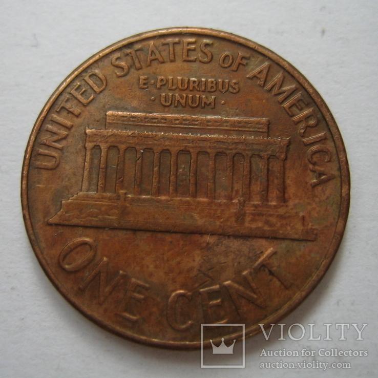 США 1 цент 1961 года.D, фото №7