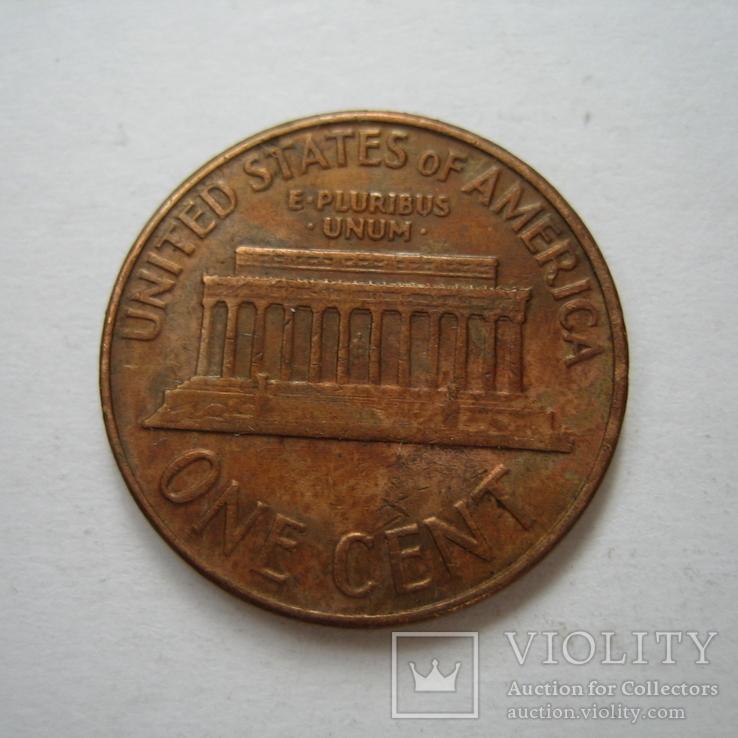 США 1 цент 1961 года.D, фото №8