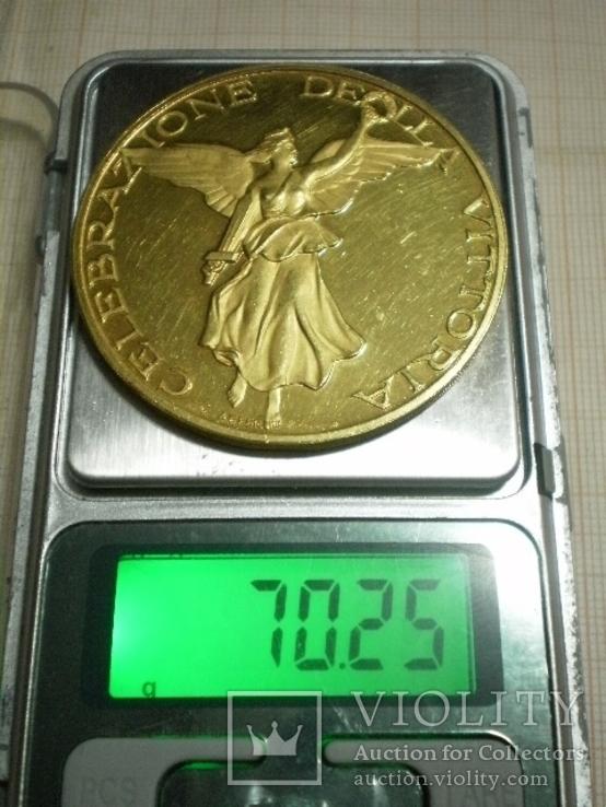 Золотая настольная медаль (Италия), фото №7