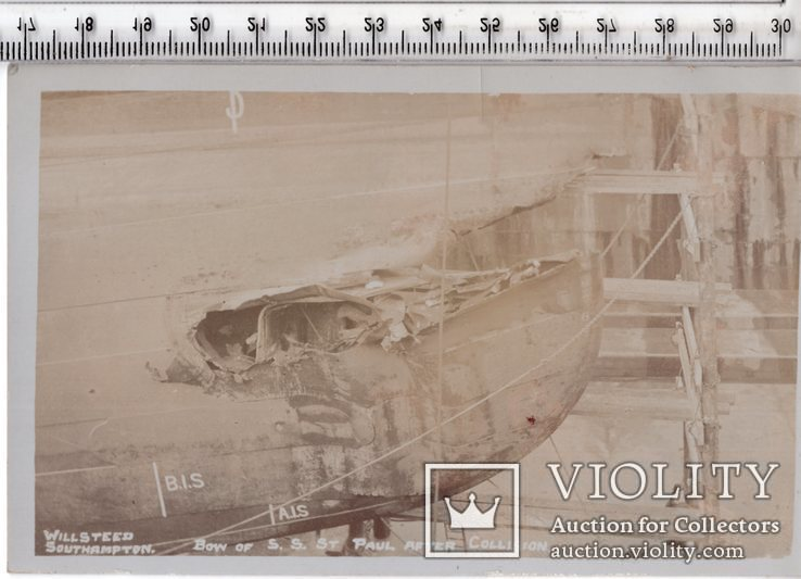 Открытка. Морская тема. Военные корабли. (3), фото №2