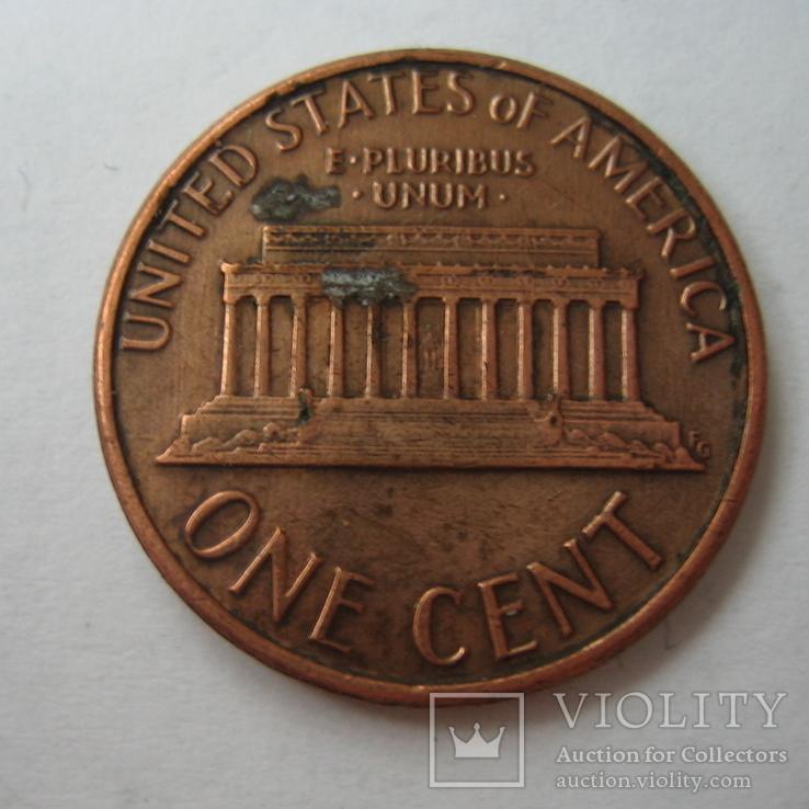 США 1 цент 1986 года., фото №4