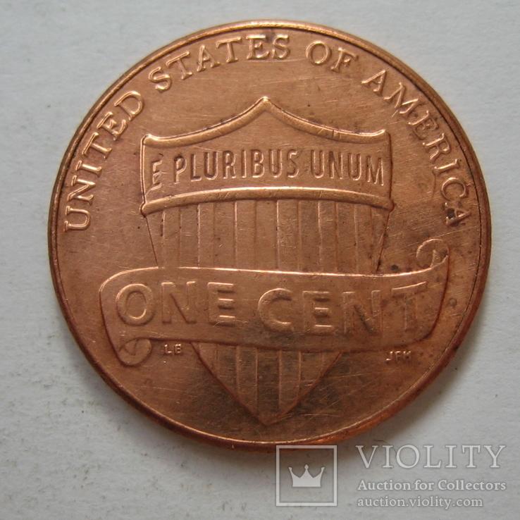 США 1 цент 2014 года.D, фото №4