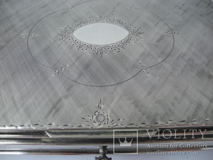Музыкальная шкатулка для украшений ( Серебро 800 пр ) Италия, фото №6