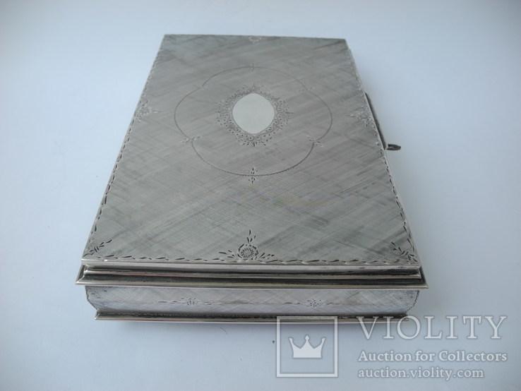 Музыкальная шкатулка для украшений ( Серебро 800 пр ) Италия, фото №7