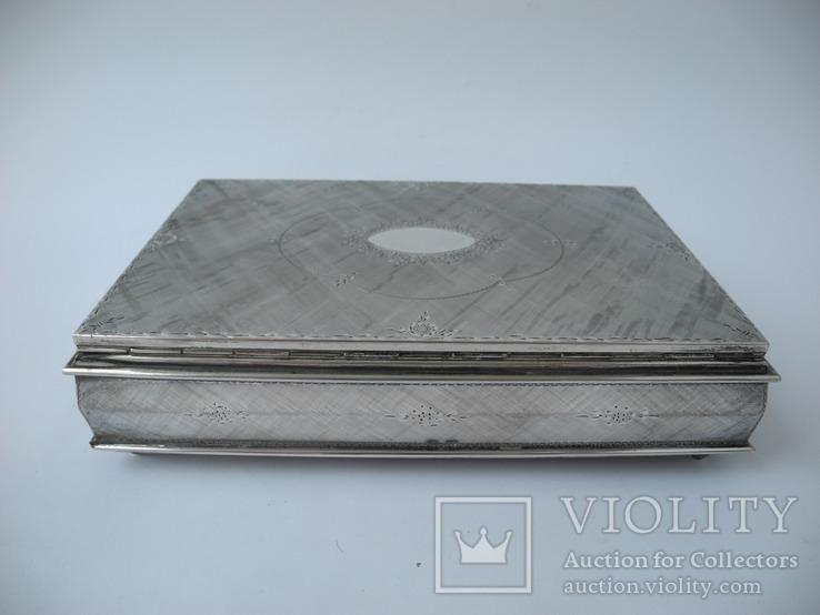 Музыкальная шкатулка для украшений ( Серебро 800 пр ) Италия, фото №8