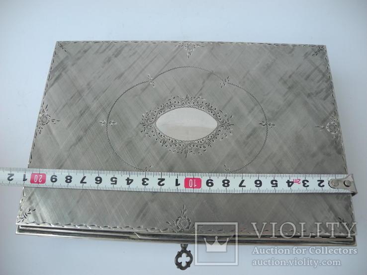 Музыкальная шкатулка для украшений ( Серебро 800 пр ) Италия, фото №11