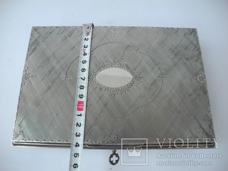 Музыкальная шкатулка для украшений ( Серебро 800 пр ) Италия, фото №12