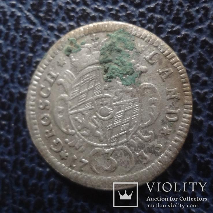 3  крейцера  1733  Бавария  серебро   ($11.1.28)~, фото №4