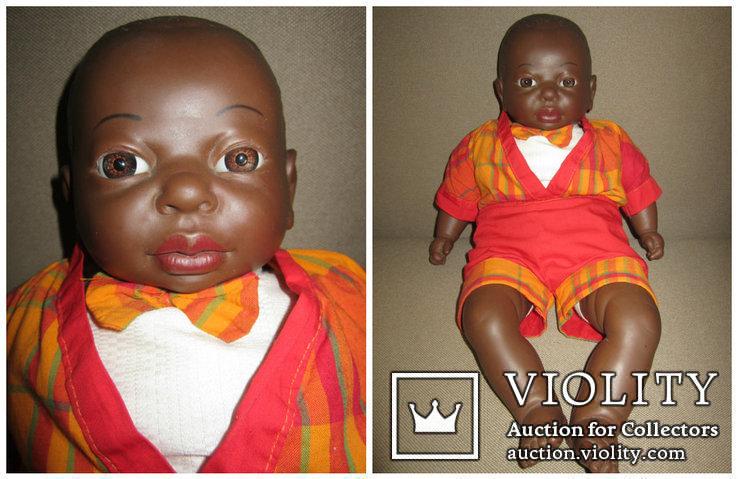 Кукла негр Джони 50см Испания, фото №2