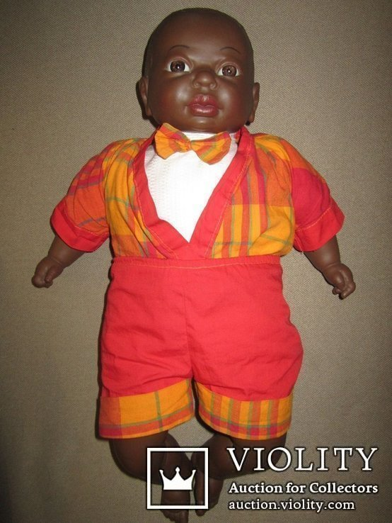 Кукла негр Джони 50см Испания, фото №3
