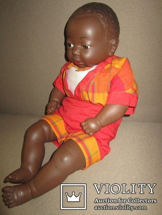Кукла негр Джони 50см Испания, фото №9