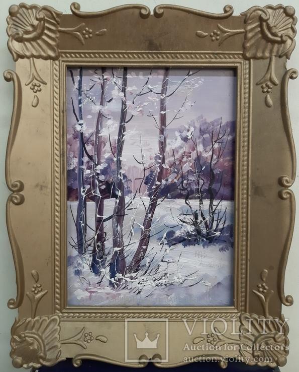 Корабельникова-Степаненко. Зима.