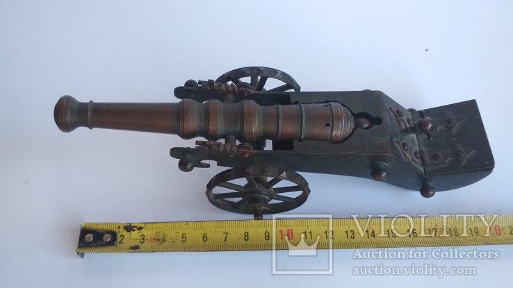Старая бронзовая пушка, фото №3