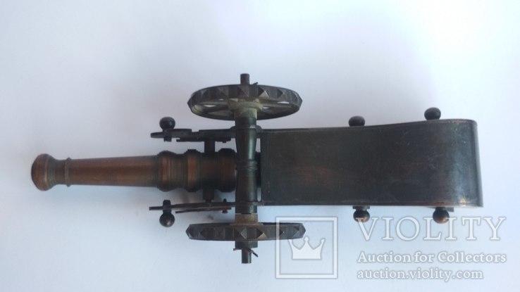 Старая бронзовая пушка, фото №4